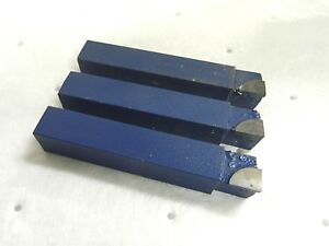 Phase Ii Square Shoulder Turning Tool Bit Carbide tipped Qty 3 Al16c6