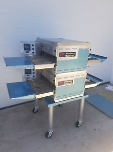 New Middleby Marshall Ps520g Double Deck Conveyor Pizza Oven Belt Width 20