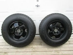 2 Michelin Xps Traction On Off Road Commercial Traction Lt215 85r16 On Gm Rims