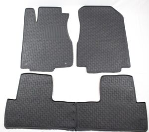 Custom Rubber Floor Mats Winter Slush Mats For 2012 2016 Honda Crv