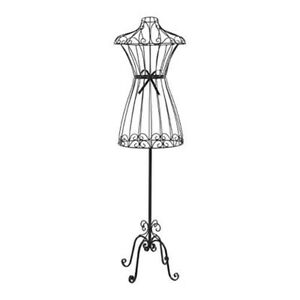 Rene Mannequin Decorative Metal Bow Looks Great Displayed Next To A Floor