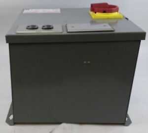 Square D Transformer Disconnect Class 9070 Type Sk1000g2 Series A 600vac Max