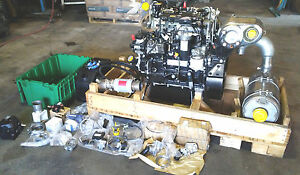 2014 New Perkins 854e e34ta Diesel Engine 4 Cyl 3 4 L 75 Hp Turbo Caterpillar