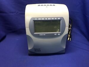 Pyramid 2600 Digital Time Punch Clock Recording No Key