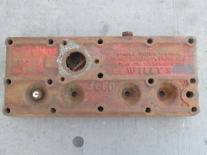 Oem 1946 1953 Jeep Willys Cj2a Cylinder Head 640161
