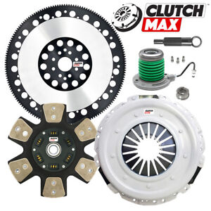 Stage 4 Clutch Kit Slave Cyl Racing Flywheel For Ford Mustang Gt Boss 302 Mt 82