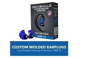 Custom Molded Earplugs Hearing Shooting Munite Fit Ear Plug Set Noise Protection