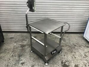 Slicer Cart W Mounting System Face To Face Deli Buddy 8220 Commercial Food Prep