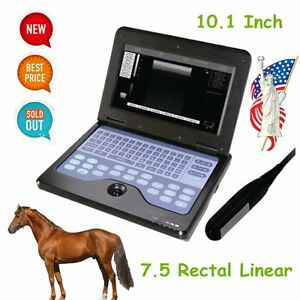 Cms600p2 Contec Veterinary Ultrasound Scanner Portable Laptop Machine 7 5 Rectal