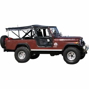 Bestop Soft Top New Black For Jeep Cj5 Willys 1955 1958 51405 01