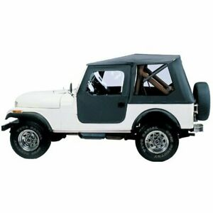 Bestop Soft Top New Black Jeep Cj7 1976 1986 51408 01
