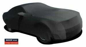 2015 2019 Ford Mustang Indoor Satin Stretch Car Cover Black Onyx