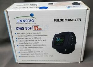 Bluetooth Enabled Cms 50f Plus Oled Wrist Color Pulse Oximeter W Innovo Probe