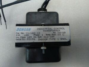 Transformer 208v Primary 24v Secondary 100 Va 208 24 V