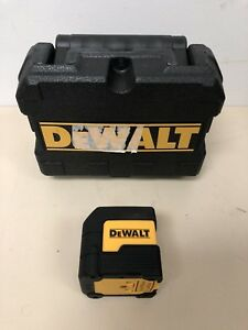Dewalt 50 Ft Cross Line Laser Level Dw08801 W Case used Free Ship