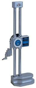Mitutoyo 192 150 Dial Height Gage 0 12 Range 001 Graduation