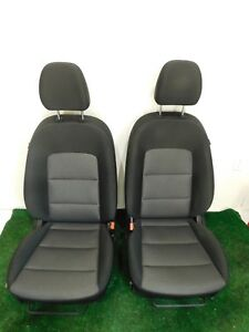 14 15 16 Kia Forte Front Cloth Bucket Seats Two Tone L R Hot Rod Sedan