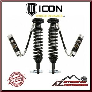 Icon Front Remote Reservoir Coil Over Shock Kit W Cdcv 2014 Ford F150 4wd