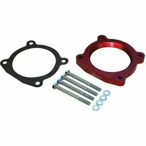 Airaid Throttle Body Spacer Billet Alumn Red Anodized 1 For Toyota Tundra Each