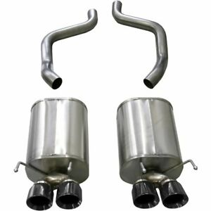 Corsa Exhaust System New For Chevy Coupe Chevrolet Corvette 2009 2013 14108blk