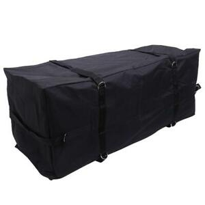 58 Large Waterproof Oxford Fabric Cargo Carrier Hitch Mount Bag Black