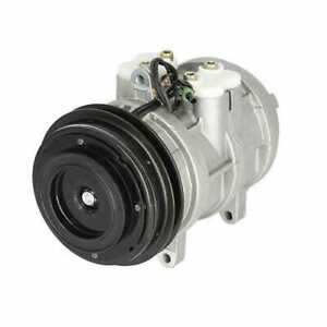 Air Conditioning Compressor With Clutch John Deere 9400 7720 4230 Case Ih