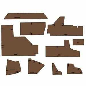 Cab Foam Kit Less Headliner Brindle Brown John Deere 4450 4050 4250 4650 4850