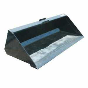 Stout Skid Steer Material Bucket With Single Cutting Edge 72 Width