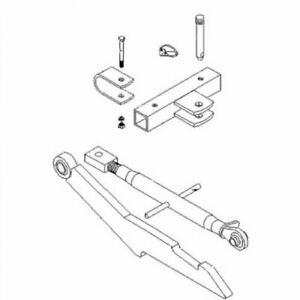 2 point Hitch Conversion Kit 32 Spacing International 350 300 460 560 450