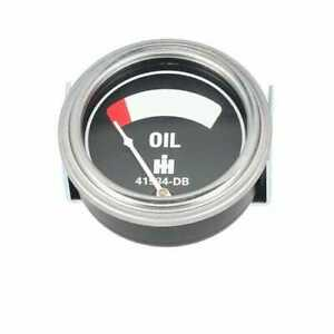 Oil Pressure Gauge International W6 Super M M W4 H Super W6 Super Mta Super H