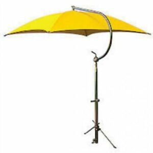 Tractor Umbrella With Frame Mounting Bracket 54 10 Oz Duck Canvas Yellow