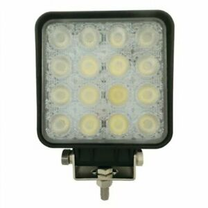 Led Work Light 48w Square Trapezoid Beam