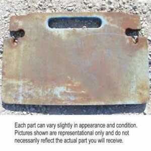 Used Front Weight Ford Tw25 Tw30 Tw35 8730 8830 D8nn3a370gc12b