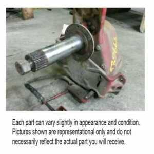 Used Rotor Drive Gear Case Assembly Fits International Fits Case Ih 1640 1660