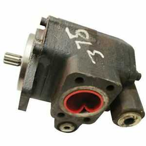 Used Hydraulic Pump Compatible With Case Ih 7130 7240 7230 7120 New Holland