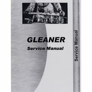 Service Manual F2 K2 Gleaner K2 K2 F2 F2