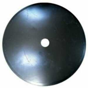Disc Blade 24 Smooth Edge 3 16 Thickness 1 1 2 Round Axle
