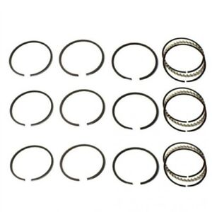Piston Ring Set Standard 3 Cylinder Ford 4600 4110 4000 4610 New Holland