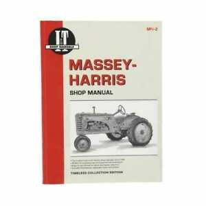I t Shop Manual Collection Massey Harris 55 44 44 33 33 23 23 555 555 21 21