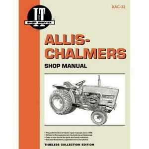 I t Shop Manual Collection Allis Chalmers 5020 5020 5030 5030