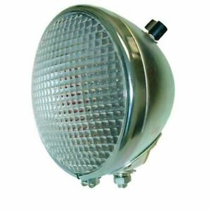 Light Assembly 12v Rear Round Combo Red Dot Minneapolis Moline Case Oliver