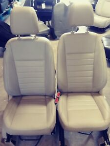 2014 Ford Escape Tan Leather Front Seats