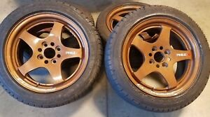 15 Work Rsz R Wheels Rare Lightweight 4x100 Civic Miata Volk Rays
