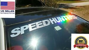 Compare To Speedhunters Windshield Decal Car Sticker Banner Graphics