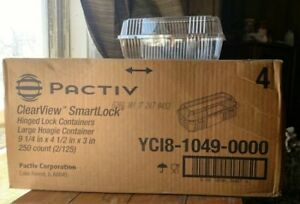 Pactiv Clearview Smartlock Food Containers