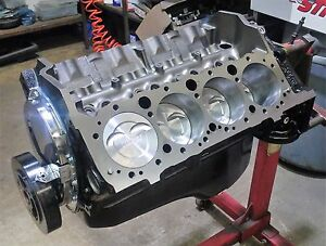 Chevy 383 Stroker Short Block Engine Motor With Eagle Rods