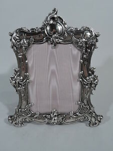 Gorham Frame 322 1 Picture Photo Rococo American Sterling Silver