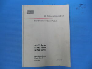 Ge Fanuc Automation Cnc Machine Operator s Manual Appendixes Programming Codes