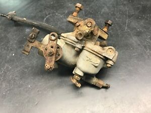 1963 Farmall 140 Tractor Oem Carb Carburetor Intake Fuel