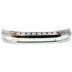 Front Bumper Face Bar For 2000 2006 Toyota Tundra Fits 521010c020 To1002170